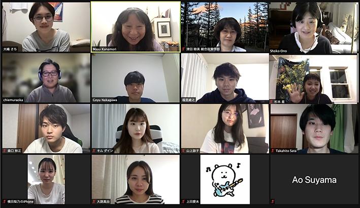 Interim Report from Kwansei Gakuin Uni Students 関西学院大学津田ゼミとの皆さんと中間報告 2021.05.22
